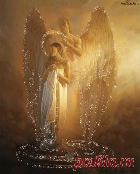 Молитвы к ангелам любви - Молитвы - Ангел Мой