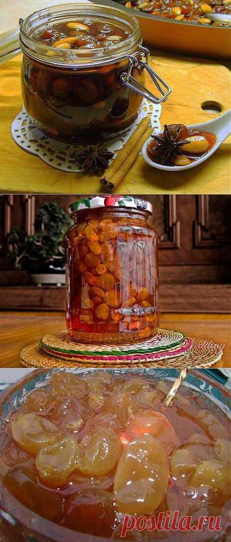 Южное варенье для согревающих чаепитий / Простые рецепты