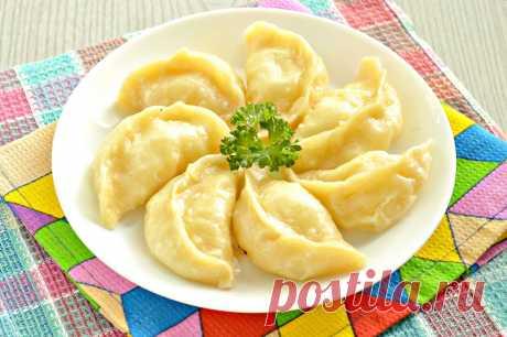 Вареники с картофелем на пару - рецепт с фото пошагово