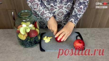 Три новых вкуса компота из винограда на зиму | Сейчас Приготовим! | Пульс Mail.ru