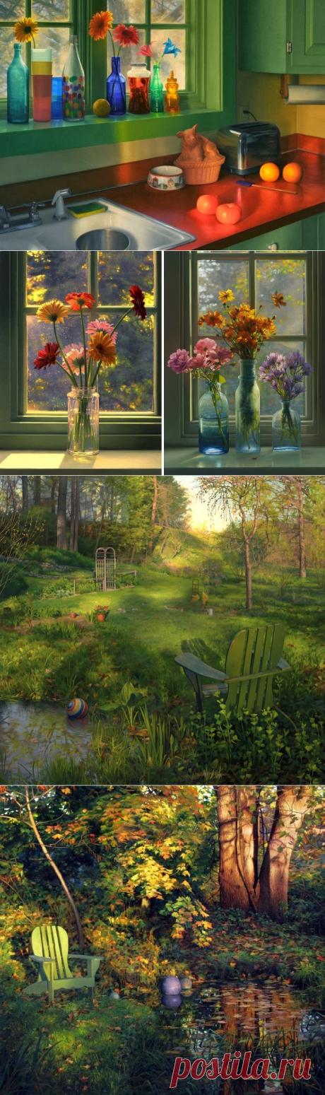 Новаторские натюрморты, которые завораживают игрой солнечного света: Гиперреалист Скотт Прайор