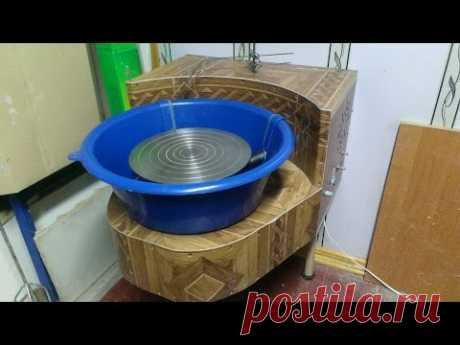 Гончарный круг из стиральной машины (часть первая)
