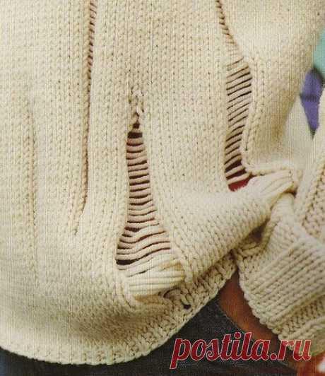 Основы вязания ☆ виды, набор и закрытие лицевых петель