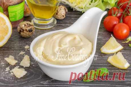 Соус для салата Цезарь - рецепт