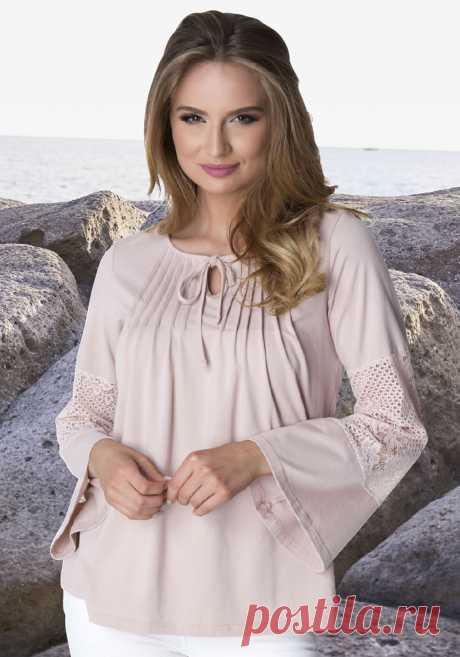 Блузка цвет: бежевый арт: 1025971047 купить в Интернет магазине Quelle за 1899.00 руб - с доставкой по Москве и России