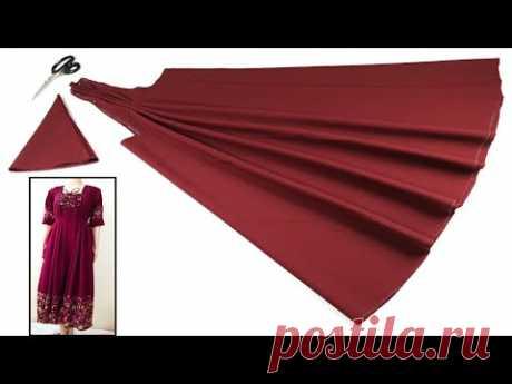 Новейшее пошив платья для взрослых простым и понятным способом