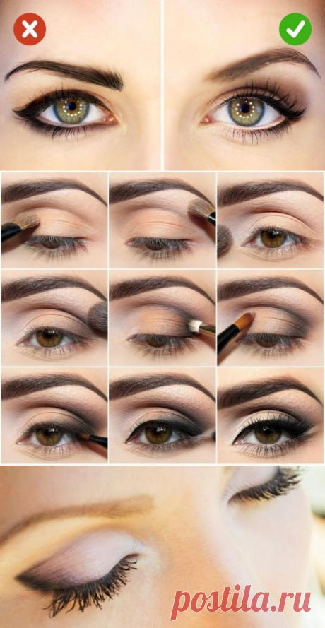 Как зрительно увеличить глаза с помощью минимального количества макияжа