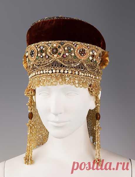 Старинные русские традиционные головные уборы
