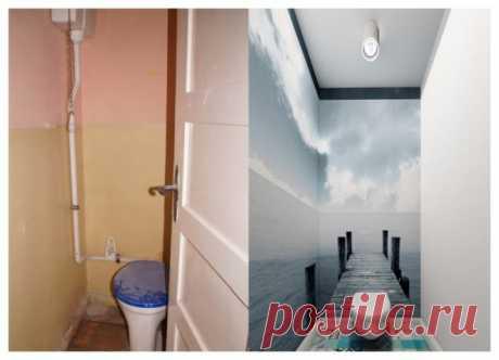 Фото ванных комнат и туалетов после ремонта: лучшее преображение