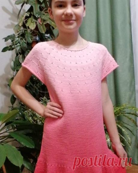 Детские платья. Идеи для вязания   О.Р.   Яндекс Дзен