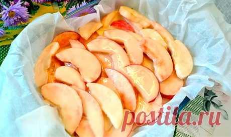 Заливной пирог с яблоками | Рецепты на SuperKuhen.ru