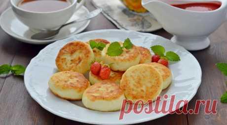 Сырники с манкой