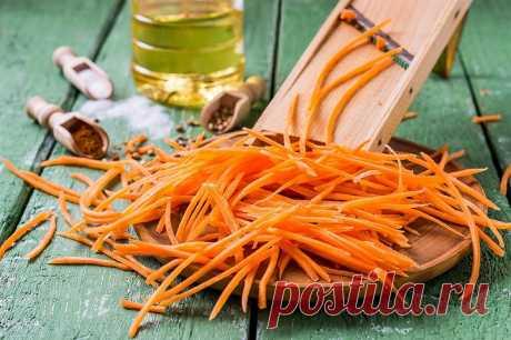 Вкусная морковь по-корейски