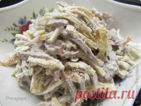 Салат яично-мясной | Страна Мастеров