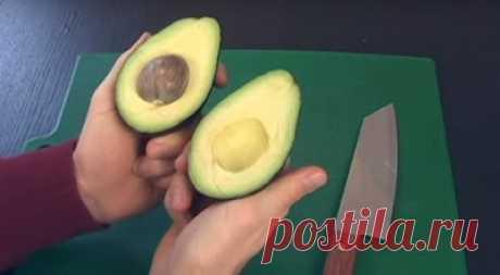 РЕЦЕПТЫ И СОВЕТЫ ХОЗЯЙКАМ: 6 способов хранения авокадо. Интересный эксперимент, результаты которого поражают...