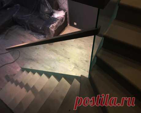 Самонесущие перила лестницы