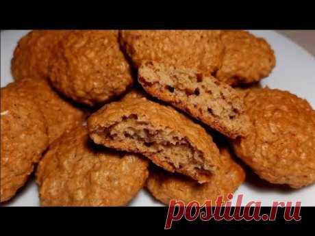 Овсяное печенье. 3 простых рецепта!