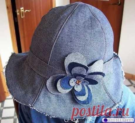 Панамки и шляпки из старых джинсов - Сам себе мастер - медиаплатформа МирТесен