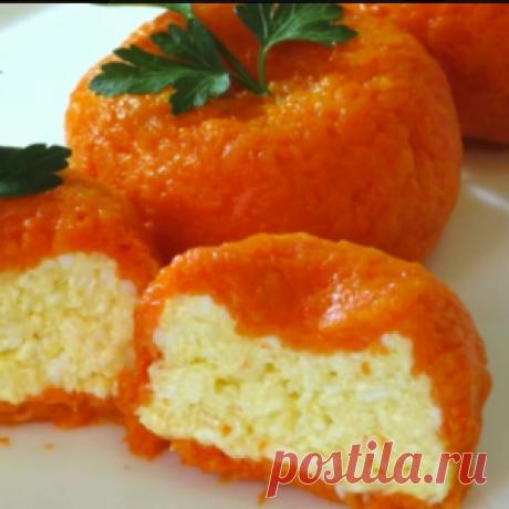 """Sharp cheese snack of \""""Tangerine\"""" - Mirtesen"""