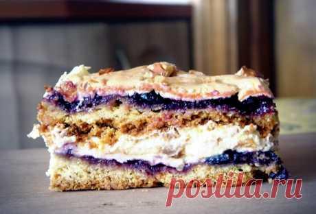 Польский пляцок Pani Walewska - вкуснейший и бесподобный пирог