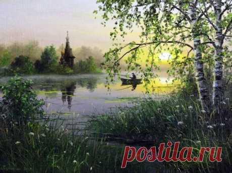 картина художника Сергея Курицына – 18