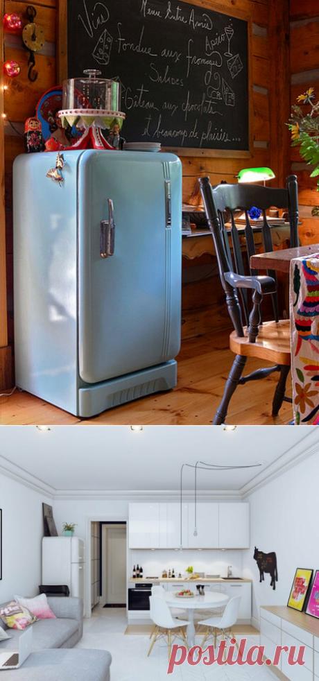 Основной параметр холодильника в квартире студии   Блоги о даче, рецептах, рыбалке #Ремонт, #Интерьеры, #Квартира, #Полезныесоветы  Допустим, вы решили покупать или уже купили квартиру-студию или квартирку с маленькой площадью и находитесь на стадии ремонта, или готовитесь въехать.  Не спешите покупать холодильник, сначала подумайте, а любой ли холодильник подойдет.