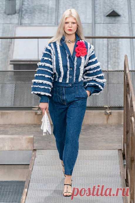 Тренды денима: юбка миди, тай-дай и тотал-луки | Instyle.ru