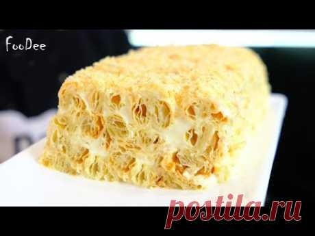 Торт из 3 ингредиентов лучше Наполеона / Рецепт торта за 30 минут! Простой, быстрый и вкусный торт - YouTube