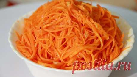 Как приготовить морковь по-корейски в домашних условиях.  Я давно изучала вопрос как приготовить морковь по корейски в домашних условиях и перепробовала не один рецепт.   Иногда лучше то, что проще и этот рецепт тому доказательство. Вам понадобится минут 10…