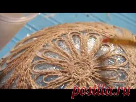 "\""La labor a mano\"". El plato en la técnica dzhutovaya la filigrana (22\/06\/2016) - YouTube"