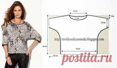Выкройки простых блуз