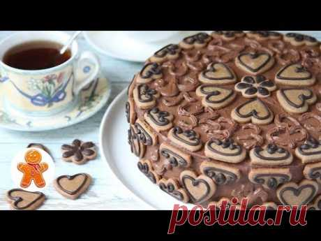 """Сказочный Торт """"Пряничная Шкатулка"""""""