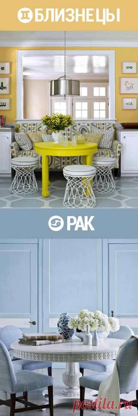 Лучший цвет для твоего интерьера: знак Зодиака подскажет! — ibox.cafe