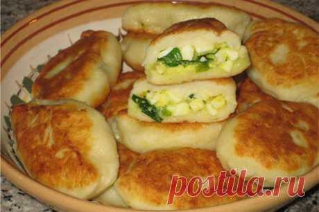 De patatas testo para los pastelillos