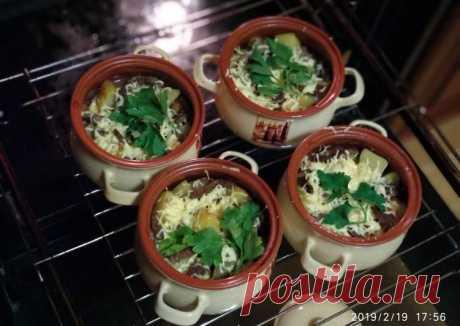 (3) Горшочки с мясом и картофелем - пошаговый рецепт с фото. Автор рецепта Оксана resepti_ot_ksu . - Cookpad