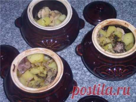 Жаркое из курицы по-русски рецепт приготовления | Кулинарам.РФ рецепты блюд с фото