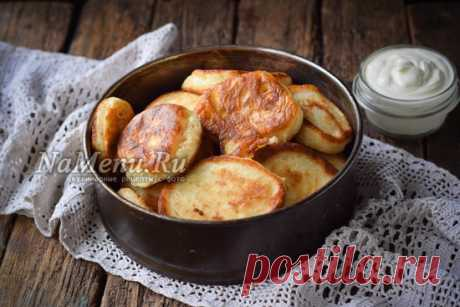 Fritters on kefir as down: confidential counter