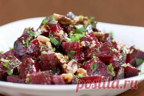 Вкусный салат долгожителей. Витамины в чистом виде
