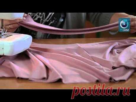 Уроки шитья для новичков - YouTube