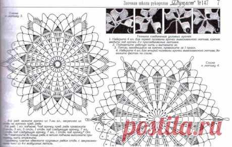 Платье из ажурных шестиугольников крючком - САМОБРАНОЧКА рукодельницам, мастерицам