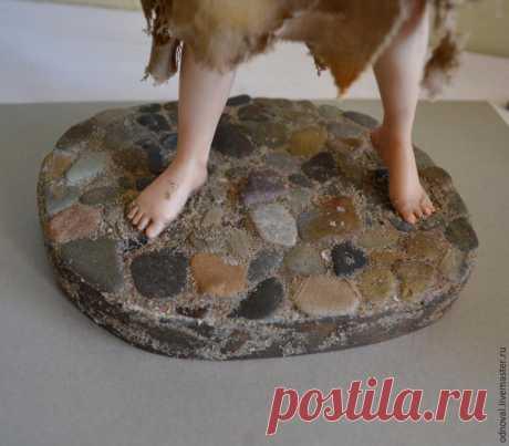 Делаем подставку для авторской куклы а-ля каменная мостовая - Ярмарка Мастеров - ручная работа, handmade