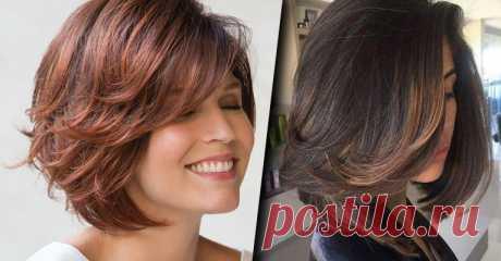 Эффектные причёски после 40 лет на средние волосы: 20 интересных вариантов | Women Life Стилисты в области причесок разработали много стильных стрижек для взрослых девушек 40+. Главная задача при выборе конкретного варианта скрыть недостатки и подч