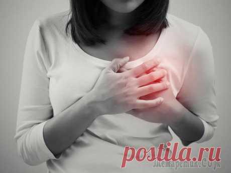 Как болит сердце: основные причины и симптомы боли в сердце