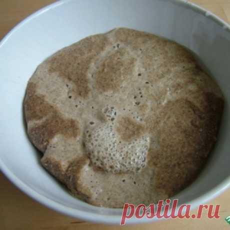 Как сделать закваску спонтанного брожения всего из двух продуктов - муки и воды - МирТесен