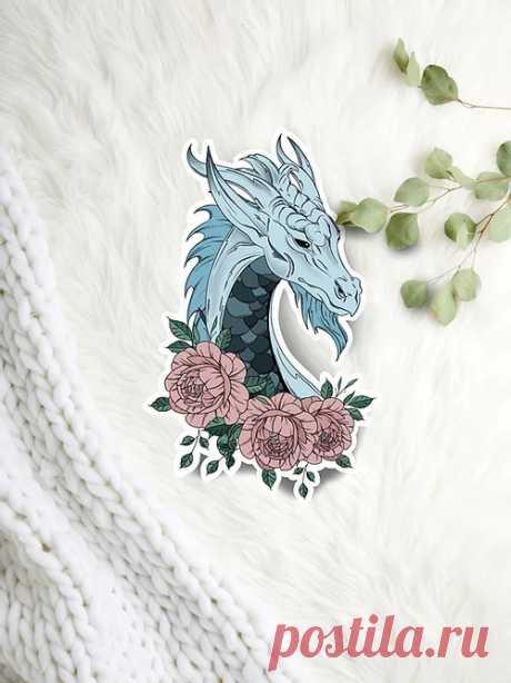 Стикер Морского дракона | Zaphixcreations