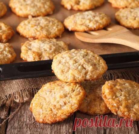 Овсяное печенье с кокосом – быстрый и полезный рецепт овсяного печенья с кокосом