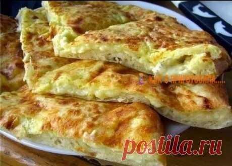Любимoe блюдo мoиx мyжчин — Быстрое «хачапури» к завтракy Так быстро хачапури Вы еще не готовили!