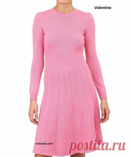 Платье от Valentino   Вяжем с Лана Ви
