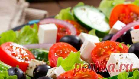 Five recipes of snack salads without mayonnaise.