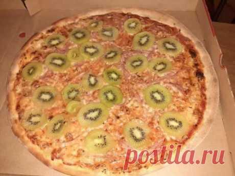 «Мерзость нечестивая». Одни боготворят, а другие проклинают пиццу с киви . Тут забавно !!!